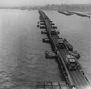 Mulberry Harbour at Arromanches, 1944